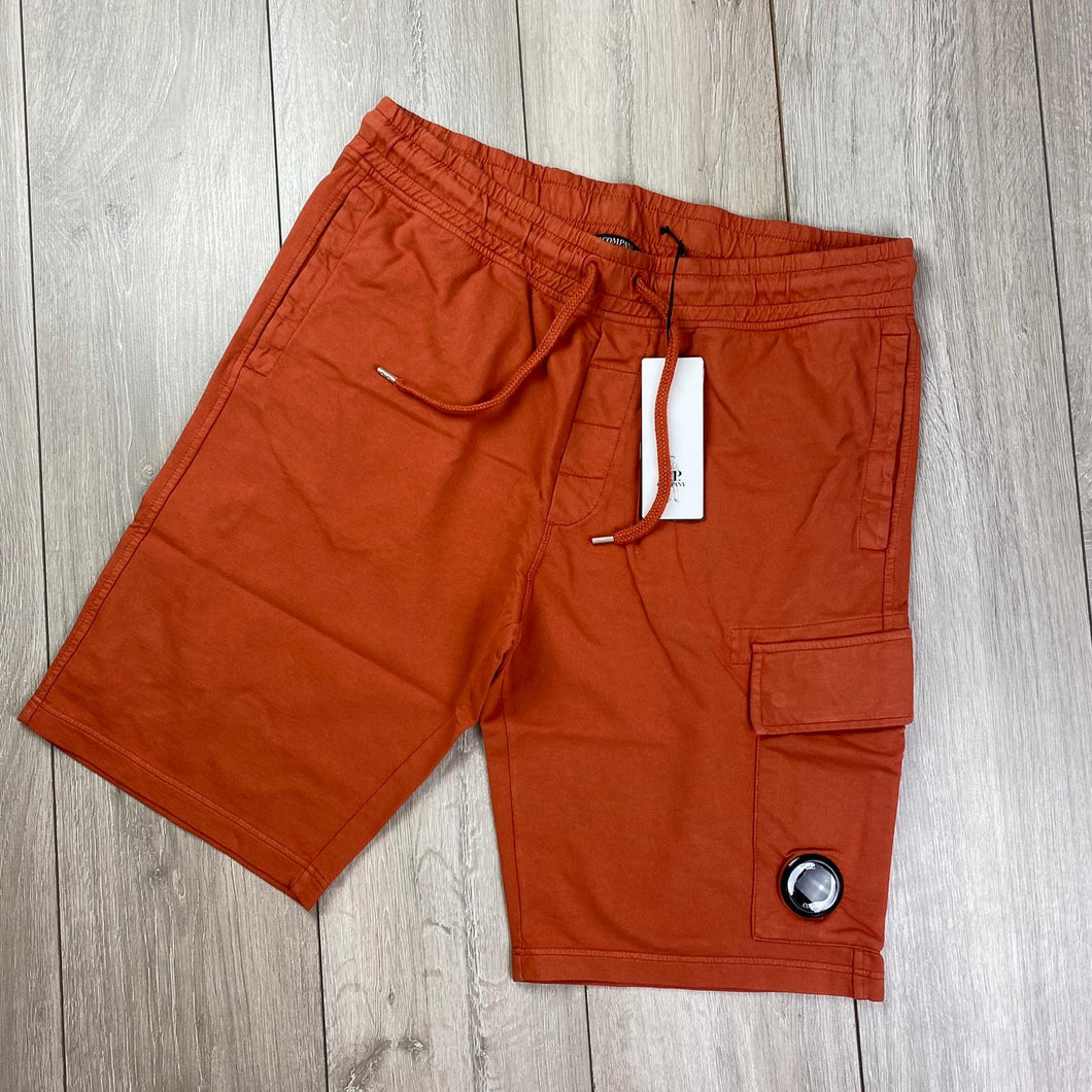CP Company Orange Jersey Shorts