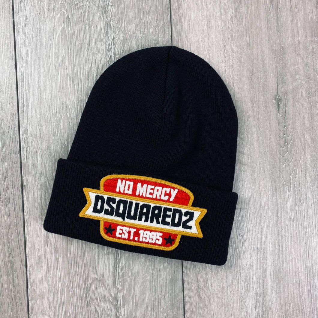 DSQUARED2 Black Beanie