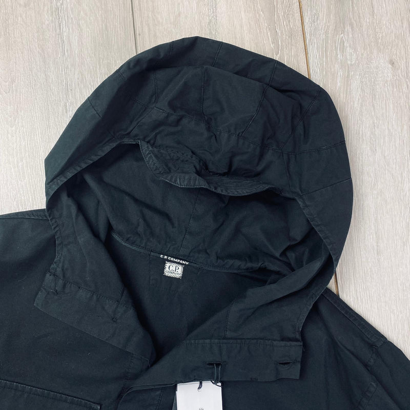 Lens Hooded Overshirt