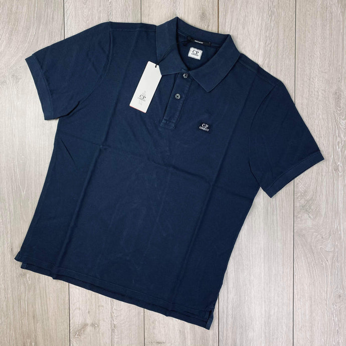 CP Company Navy Polo Shirt