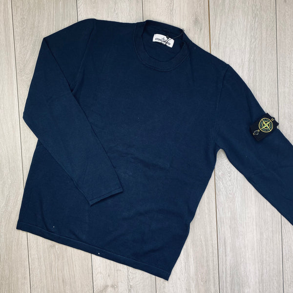Badge Knit Sweatshirt