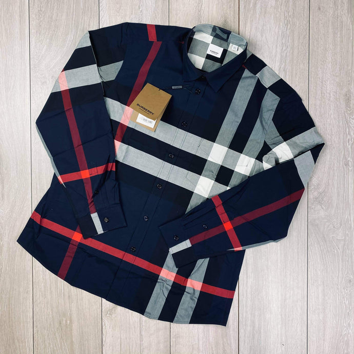 Burberry Navy Shirt