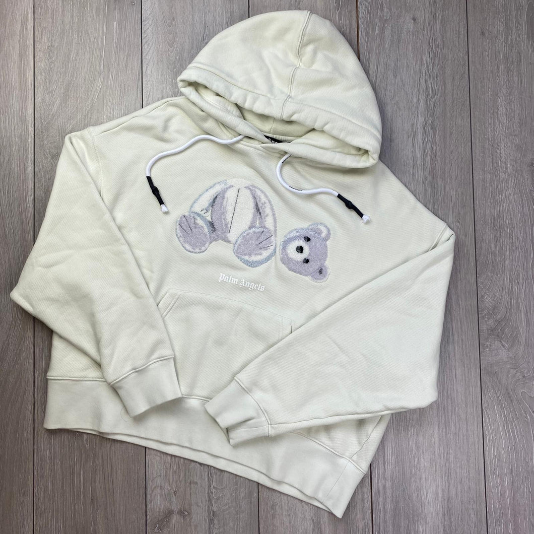 Palm Angels White Hoodie (Oversize)
