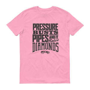 Pressure Busts Pipes T-Shirt by Off-Rip