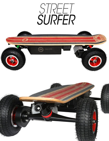 STREET SURFER 30AH ENDURO LITHIUM (With Free Shorey Electric Skateboard)