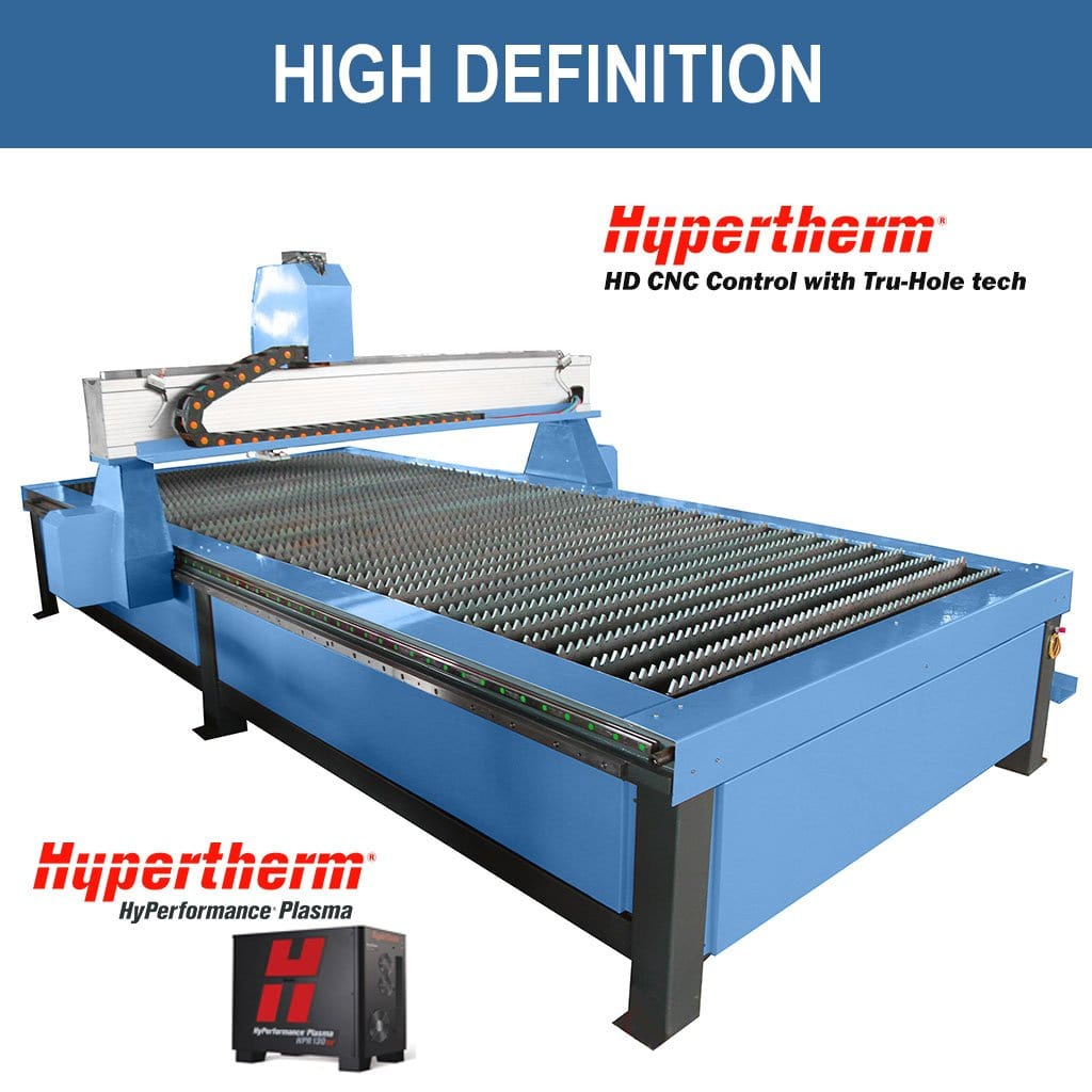 High Definition Plasma Cutter - Standard LPT-1500x3000 with Hypertherm CNC Controller