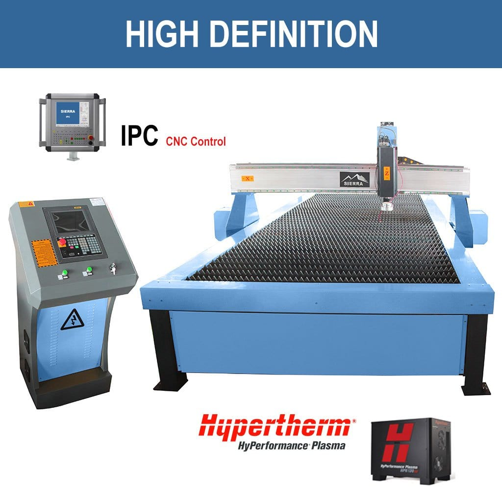 High Definition Plasma Cutter - Standard LPH 1300x2500 with IPC CNC Controller