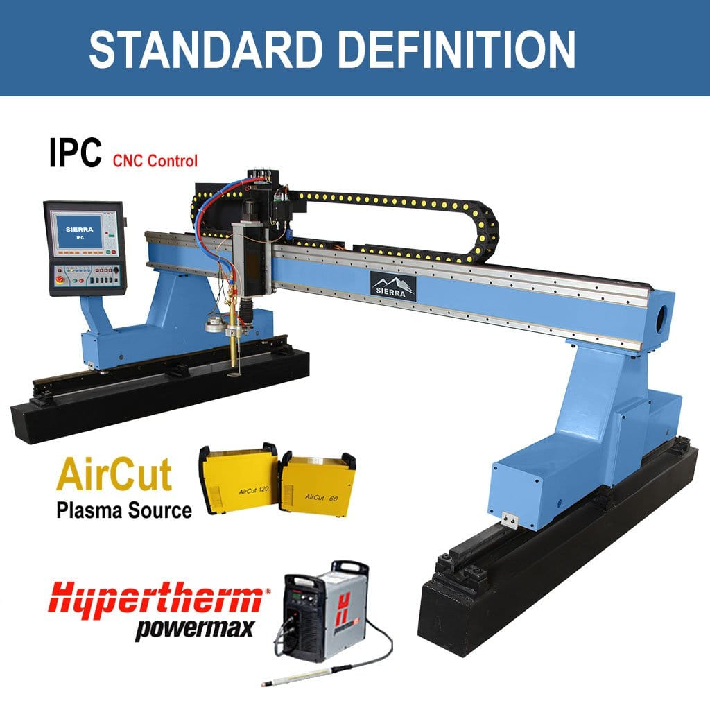 Standard Definition Plasma Cutter - Standard LPS-2500x10000 with IPC CNC Controller
