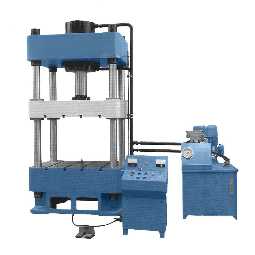 4-post Hydraulic Press - Standard H4P-750 with 750-ton Capacity