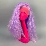 Pastel Purple Beach Waves