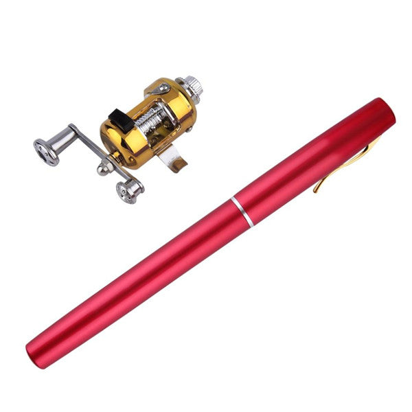 Traveling Portable Pocket Pen Fishing Pole