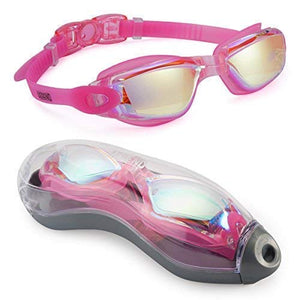Anti-fog swimming glasses