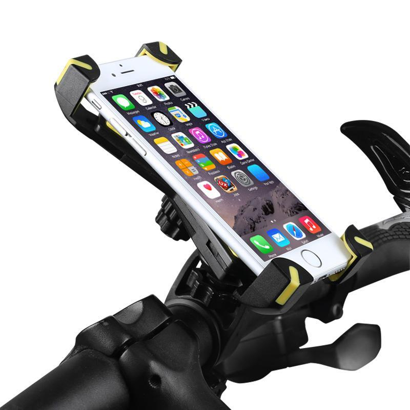BikyMount™ - 2018 The Most Secure Bike Phone Holder - Never Drop Your Device Again!