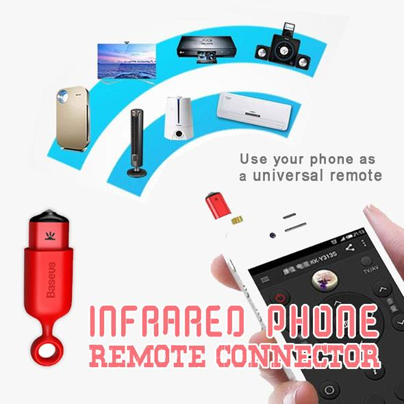 Infrared Phone Remote Connector