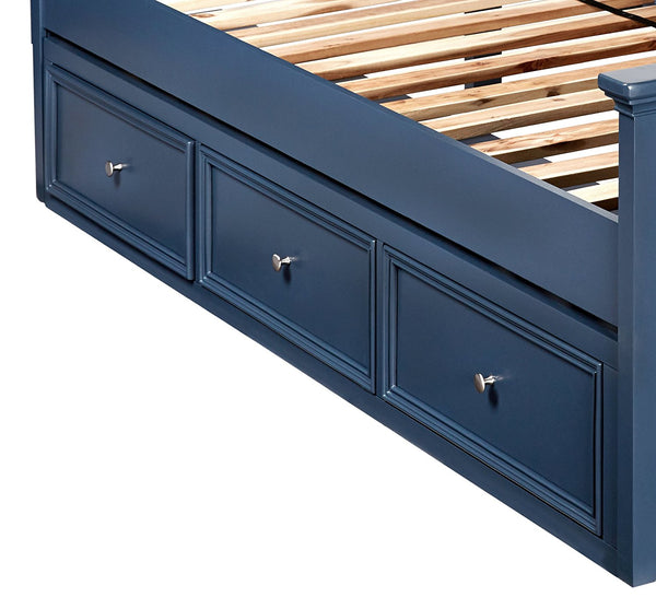 Bailey Twin Panel Bed - Williamsburg Blue