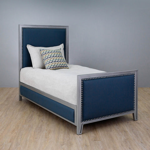 Avery Twin Bed - With Matching Surround Rails