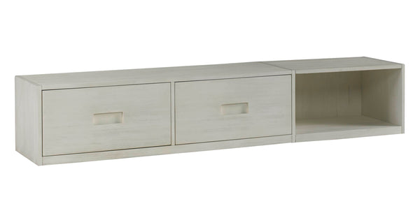 Lucca Twin Bed - Sea Shell White