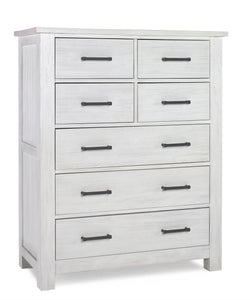 Lucca 7 Drawer Chest - Sea Shell White