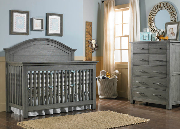 Lucca 7 Drawer Chest - Weathered Grey