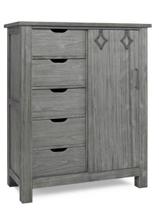Lucca Chifforobe - Weathered Grey