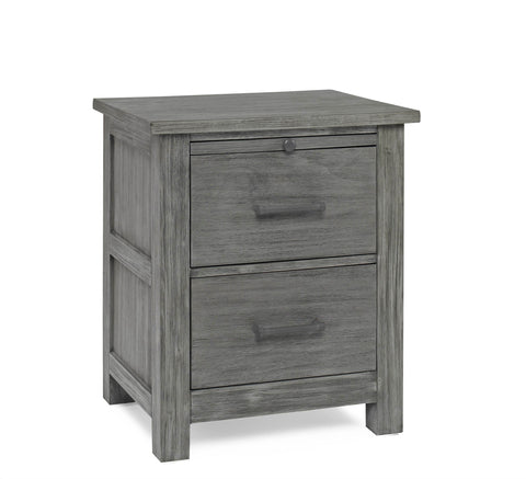 Lucca Nightstand - Weathered Grey