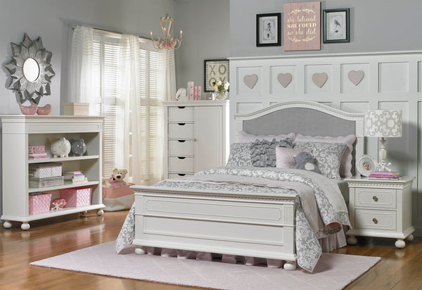 Naples Nightstand  - Snow White