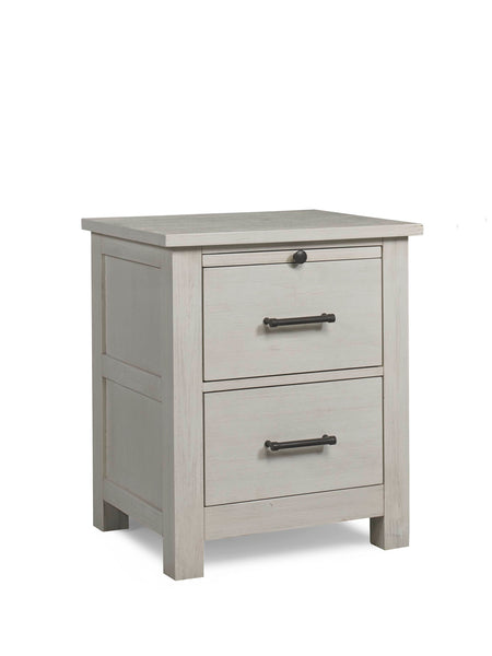 Lucca Nightstand - Sea Shell White