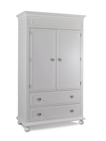 Naples Armoire - Snow White