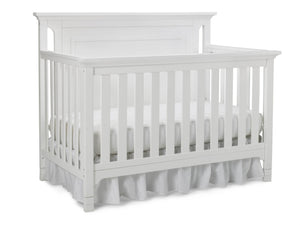 Carino Convertible Crib - Snow White