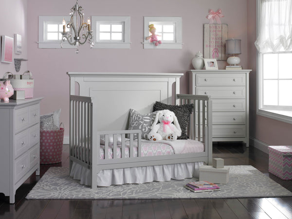 Carino Convertible Crib - Misty Grey