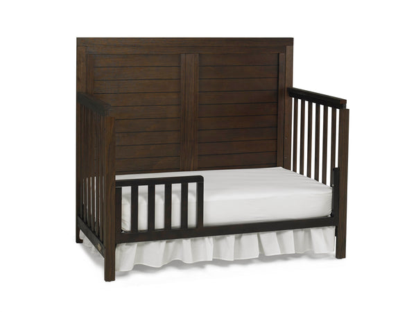 Castello Full Panel Crib - Weathered Brown