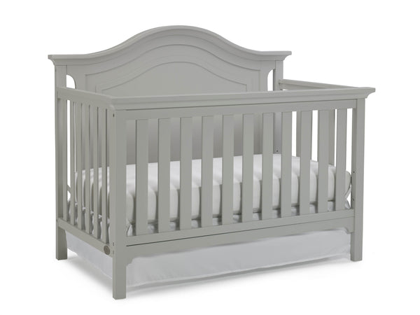 Catania Convertible Crib - Misty Grey