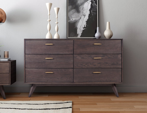 Loft Wooden 6 Drawer Dresser