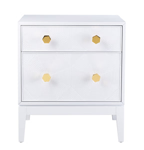 Mila Lacquer Nightstand