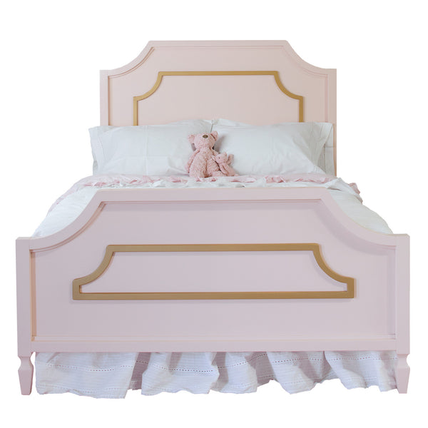 Beverly Twin Bed - With Moldings