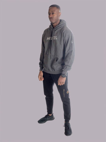 Reflective Graphite Grey Pullover