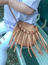 Load image into Gallery viewer, Rose Gold Tassel Tote