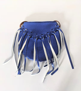 Metallic Blue Tote (2 styles available)