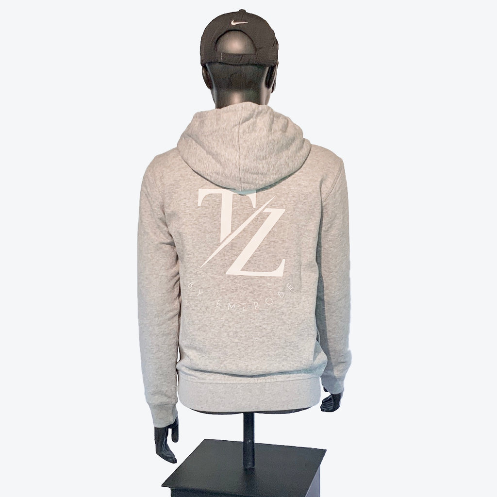 Hoodies Grey/White