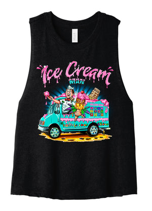 Ice Cream Man Crop Top