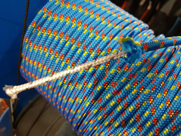 7mm 16 Plt Poly Blue Red/Yell