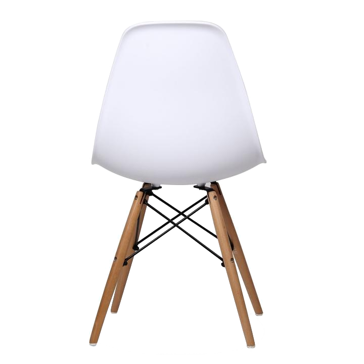 Chaise Dos Dsw Blanches Eames Panda
