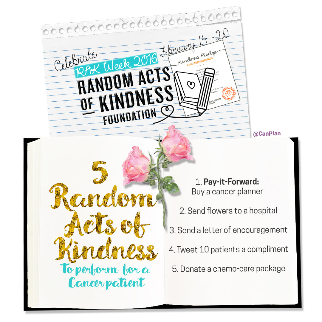 10 RANDOM ACTS OF KINDNESS YOU CAN DO FOR A CANCER PATIENT