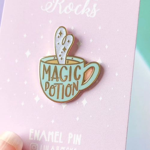 Magic Potion Mug Enamel Pin