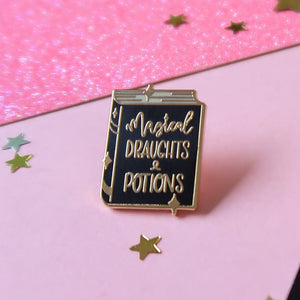 Potion Book Enamel Pin