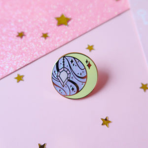 Magic Moon Enamel Pin