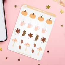 Load image into Gallery viewer, Autumn Planner Sticker Sheet