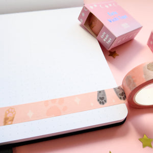 Cat Paws Washi Tape
