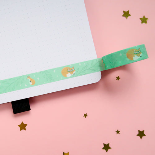 Forest Foxes Washi Tape