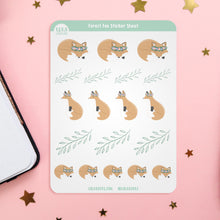 Load image into Gallery viewer, Forest Fox Planner Sticker Sheet